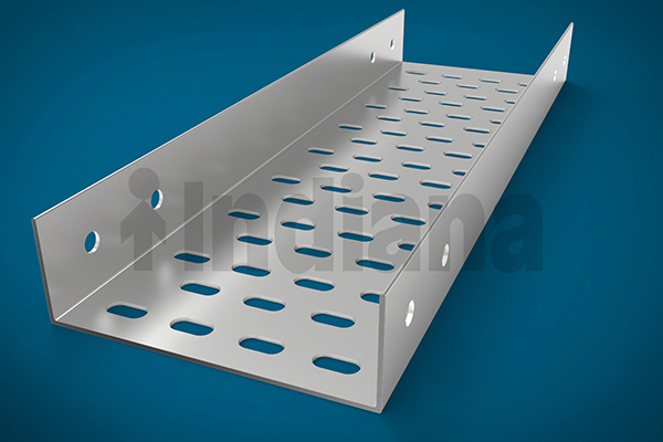 plain perforated cable trays